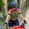 2020 xama verão ciclismo macacão de manga curta skinsuit profissional ciclismo roupas roupa ciclismo equipe roadbike correndo terno 20