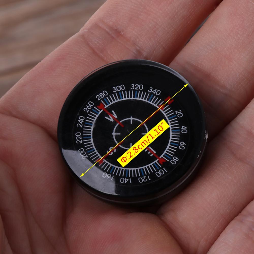 Новый портативный мини-отжимная Кнопка выживания компас охотничий кемпинг практический гид