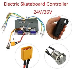 Image 1 - 24V/36V Electric Skateboard Controller Longboard Remote Control Dual Motors ESC Parts Scooters Skate Board Accessories