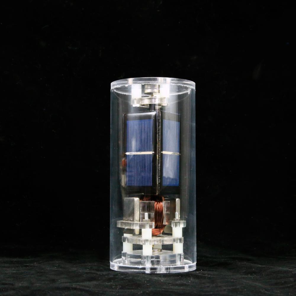 Juguetes educativos juguetes solares DIY taza de agua levitación magnética solar motor de la ciencia juguete de la física de la ciencia DIY juguete de regalo - 6