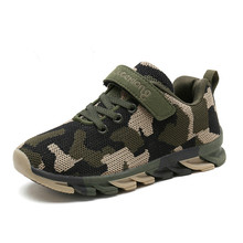 Camouflage Kids Sneakers Boys Children Sports Shoes Casual Boy for Girls Air Mesh Outdoor Trainers