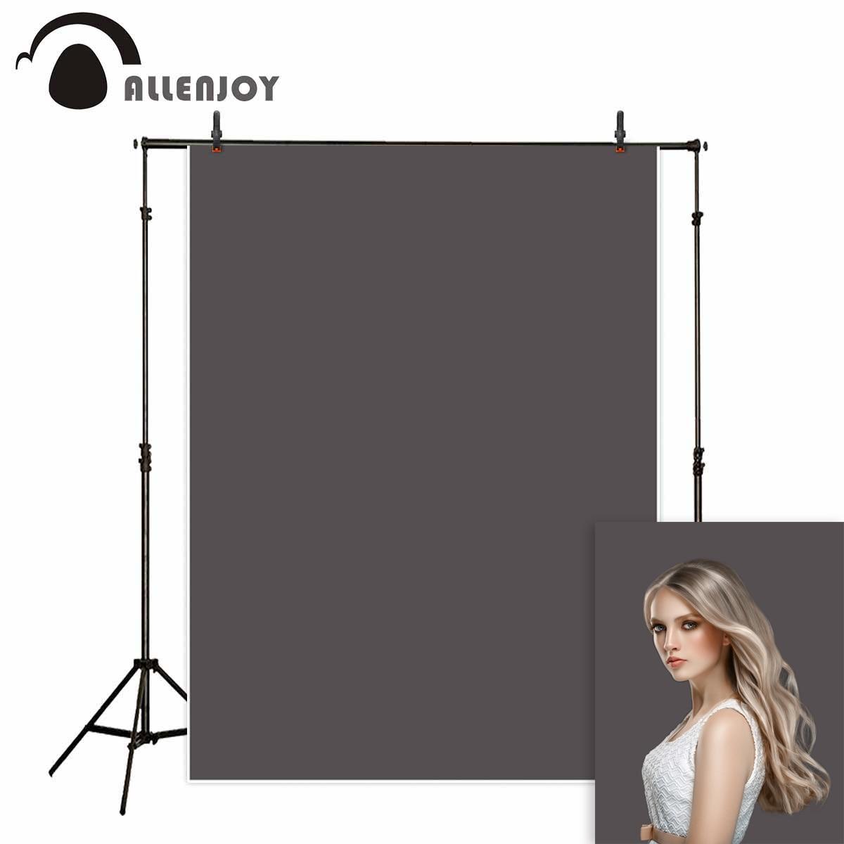 Allenjoy gris color sólido fotografía telón de fondo bebé photophone estudio Fondo retrato sesión fotográfica boda