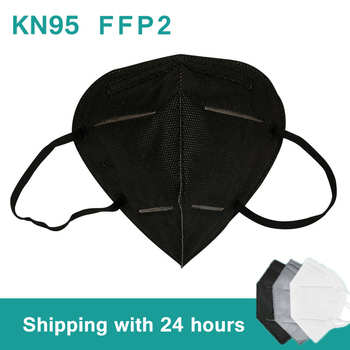 1-100 pieces Reusable KN95 Face Mask Dust Masks Protective Respirator Dust Protection FaceMask Equivalent to FFP2 close to FFP3