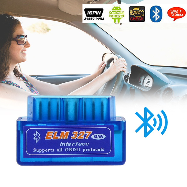 FORAUTO Car Diagnostic Tool Scanner Code Readers For OBDII Protocol Scan Tools ELM327 Bluetooth V2.1 / V1.5 For Android/Symbian