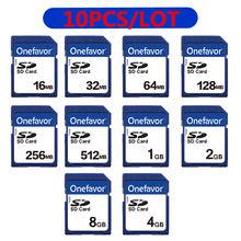 Promoção!!! 10 pçs/lote 2GB 1 Cartão SD GB 512MB 256MB 128MB MB MB MB 16 32 64 8GB 4GB SDHC Secure Digital Cartão de Memória Flash Cartão de Memória