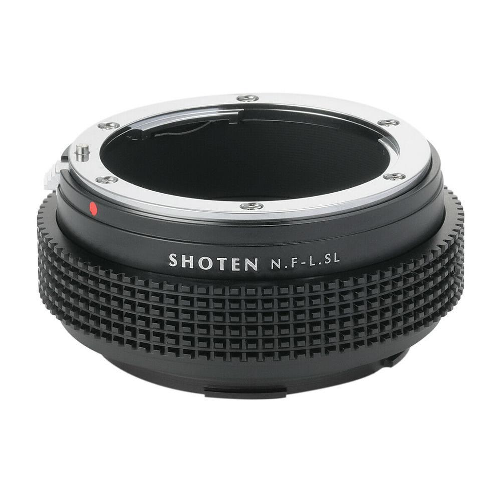 Адаптер SHOTEN для объектива Nikon F крепление для объективов Leica T TL TL2 CL SL SL2 Panasonic S1 S1R S1H Sigma fp L