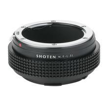 SHOTEN Adaptador de lente de montaje para Nikon F, lentes de montaje a Leica T TL TL2 CL SL SL2 Panasonic S1 S1R S1H Sigma fp L