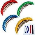 Высококачественный парашютный спортивный пляжный воздушный змей 2,5 м с двойной линией, 4 цвета