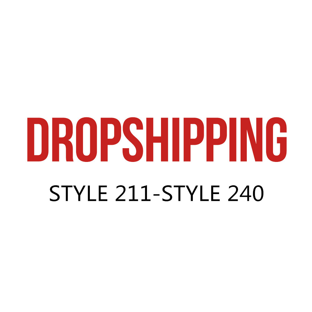 US DROPSHIP LINK ADULT STYLE 211-STYLE 240