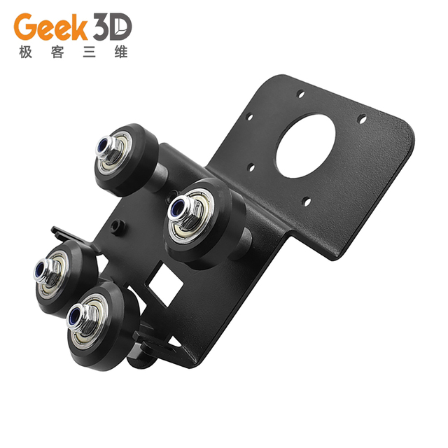 A Set Upgrade Ender3/CR10 Direct Drive Plate Kit Aluminum Alloy Mounting Extruder Adapter ender 3 for 3D Printer Parts|3D Printer Parts & Accessories|   -