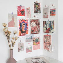 Postcard Wall-Sticker Photo-Props Paintings Greeting-Card Collocation-Decoration 15-Sheets