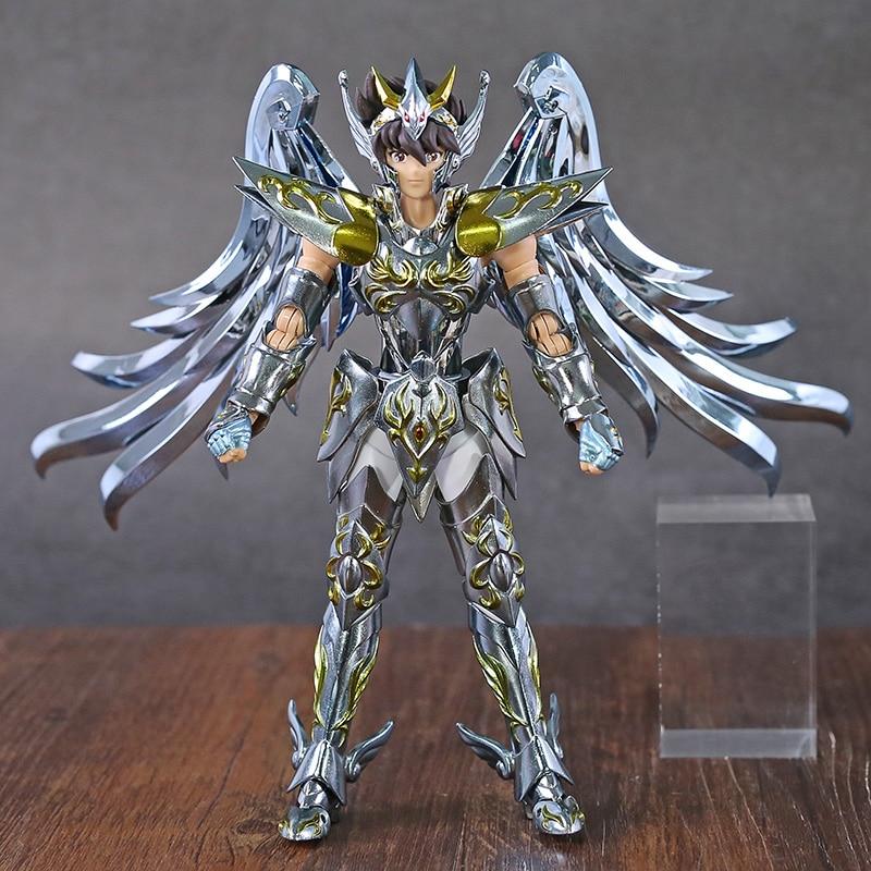 Świetne zabawki EX Pegasus Meteor jesień Saint Seiya duszy złota SOG V4 metalowy pancerz pcv Action zestaw figurek kolekcjonerska Model w Figurki i postaci od Zabawki i hobby na AliExpress - 11.11_Double 11Singles' Day 1