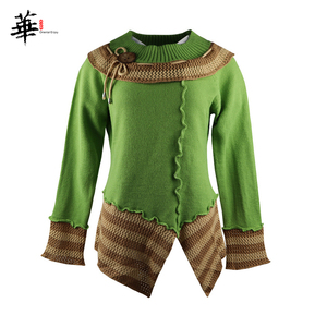 Image 4 - Vintage Sweater Women Knitted Long Sleeve Sweaters for women Tops Fall Winter Clothes Women 2020 Pullover Jumper Woman Sweaters