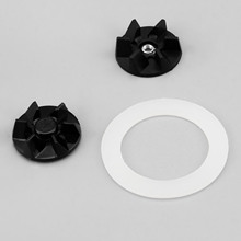 2Pcs Replacement Rubber Drive Clutch With 3Pcs Grey Sealing Gasket 990035800 Fit for Hamilton Beach Blender