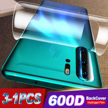 3Pcs 600D Back Screen Protector For Huawei P30 P20 Pro Mate 30 20 Lite Pro Hydrogel Film For Honor 20 8X 9X Soft Film Not Glass(China)