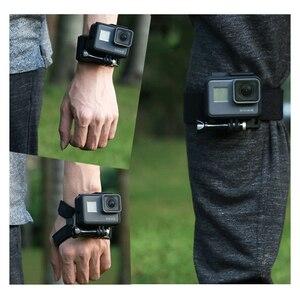 Ремешок на запястье с поворотом на 360 градусов для GoPro Hero 8/7/6/5/4 Go pro ручной держатель для Xiaomi yi 4k SJ4000
