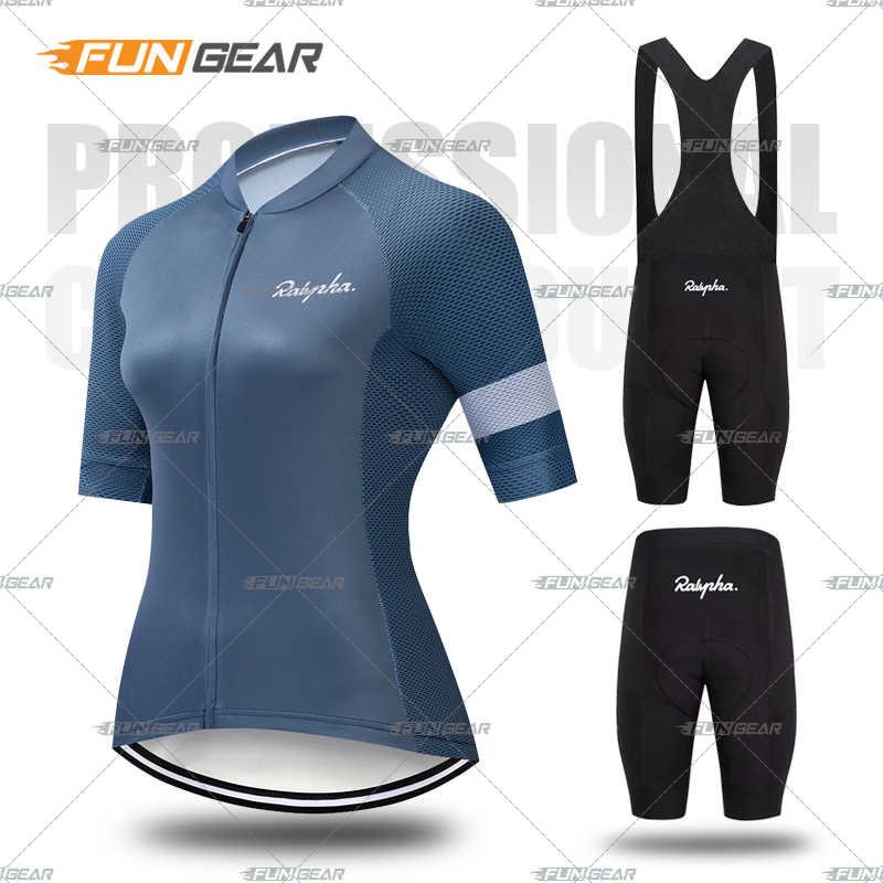 新しい女性プロサイクリング半袖ジャージセット夏通気性スポーツスーツmtb自転車服女性の自転車の服カジュアルウェア