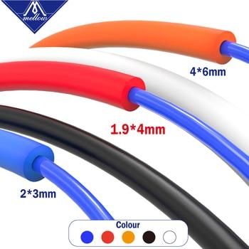 Mellow PTFE Tube Teflonto For 1.75mm/3.0mm TL-Feeder Ender 3 Prusa I3 Bowden Hotend Extruder 3D Printer Parts Capricornu