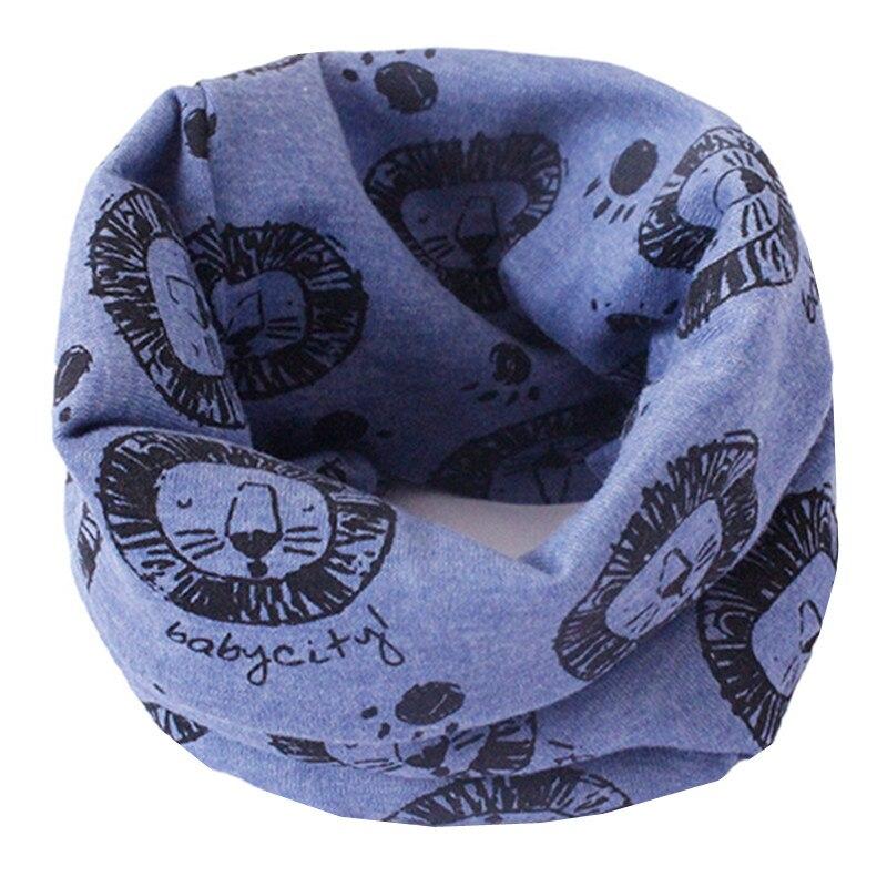 Весенне-осенне-зимний детский хлопковый шарф для От 0 до 10 лет, Детские шарфы с героями мультфильмов, модный теплый воротник - Цвет: 64