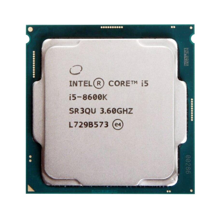 Intel Core i5 8600K 3,6 GHz Six-Core seis-Hilo de procesador de CPU 9M 91W LGA 1151