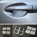4 шт.  автомобильные наклейки  автомобильная дверная ручка  защита от царапин для Kia Rio K2 K3 K5 K4 K9 K900 KX3 KX5 KX7 Cerato Soul Forte Sportage