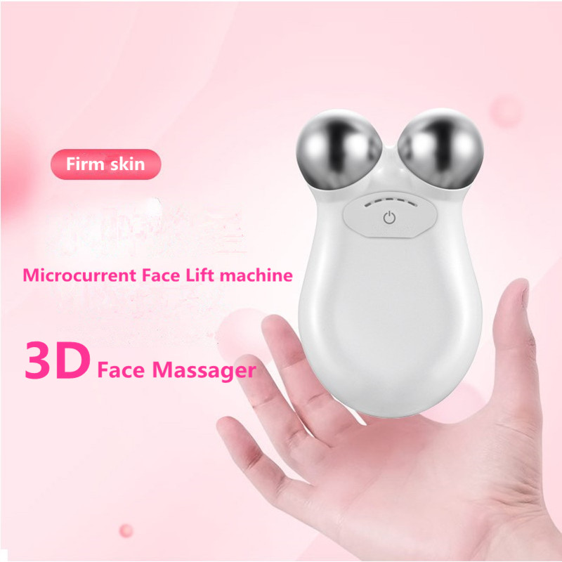 USB Mini Microcurrent Face Lift Skin Tightening Rejuvenation Spa For Facial Wrinkle Remover Toning Device Beauty Massage Machine