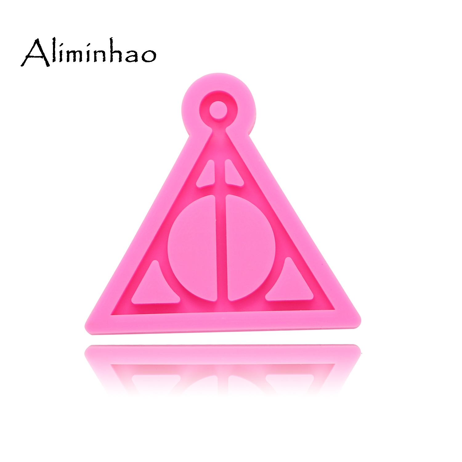 Harry Potter Logo Silicone Mould for Keychains Pendant DIY Jewelry Making Mold