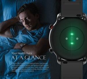 Image 4 - En Stock Amazfit GTR Lite 47mm Smart Watch versión Global 24 días batería con 5ATM impermeable AMOLED pantalla para Android IOS