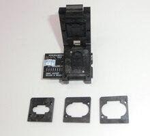 Livraison gratuite RT BGA169 01 BGA169/BGA153 EMMC adaptateur V2.3 plus récent avec 3 pièces BGA boîte de délimitation pour programmeur RT809H