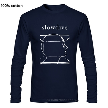 quality fashion Long sleeve men tshirt Slowdive shoegaze shoefazer music album slowdive mbv my bloody valentine man's T-shirt image