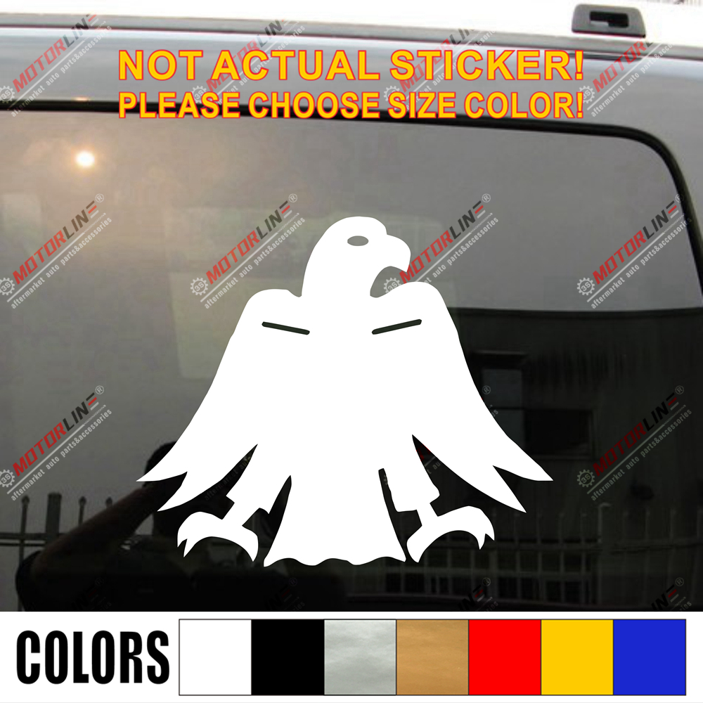 Basque Nationalists Modern Arrano Beltza Black Eagle Car Decal Sticker Vinyl Die Cut No Background,choose Your Size And Color!