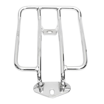 Fashion-Motorcycle Luggage Rack Backrest For Sportster Xl 883 Xl1200 X48(Chrome)