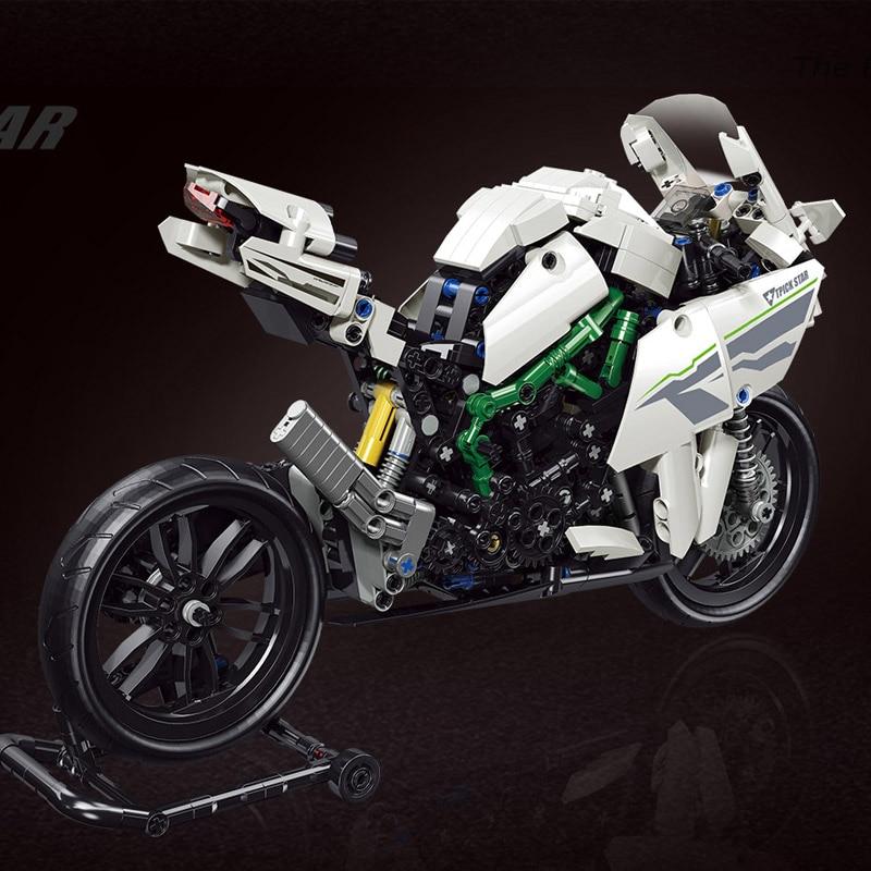 Yeshin The H2R And F700 GS Rallye MOTO Model