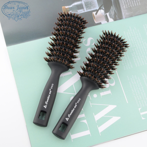 1pc Black Detangling Hair Brush Handle bristle Comb pompadour men styling Shower Massage scalp Comb Salon Hairdressing(China)