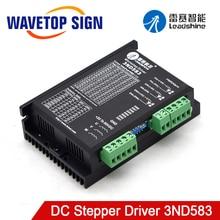 Leadshine 3ND583 3Phase Stepper Motor Driver 20 50VDC 2.1 8.3A Match 57 86ชุดมอเตอร์