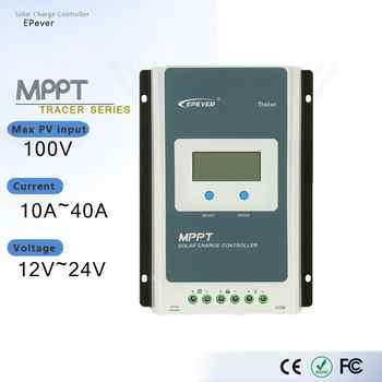 MPPT EPever Solar Charge Controller 40A 30A 20A 10A Tracer AN Series Back-light LCD Regulator for Lead-acid Lithium-ion Battery - DISCOUNT ITEM  16% OFF All Category