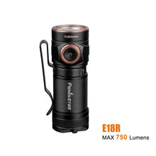 FENIX E18R EDC Rechargeable Flashlight max 750 lumen Magnetic Charging Portable Outdoor Sports Torch with 16340 700mAh battery(China)