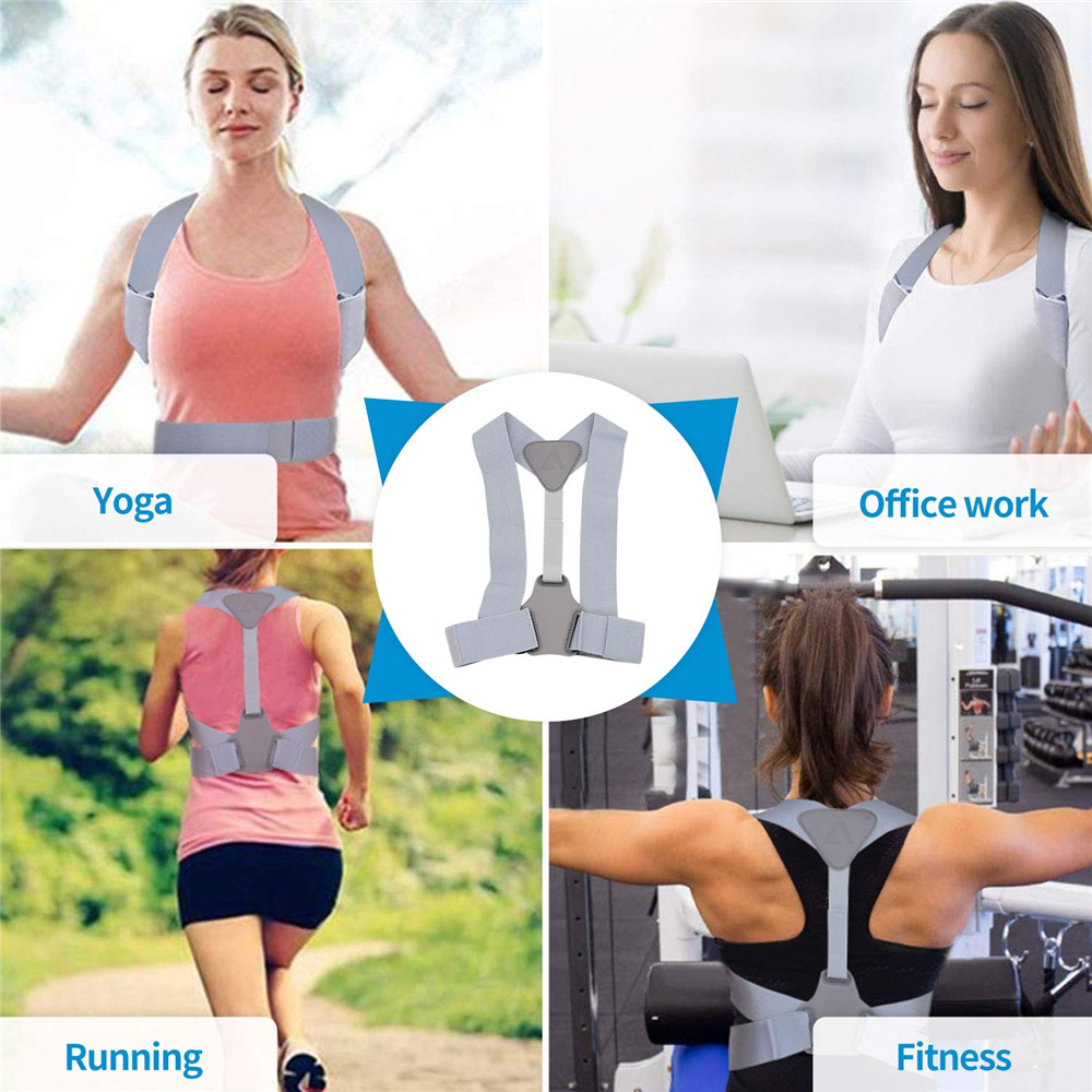 Adjustable Posture Corrector Belt for Clavicle and Spine Support Helps to Relief Back Pain Suitable for Unisex 16