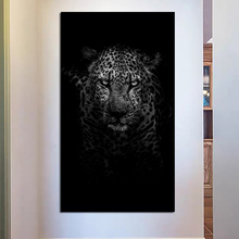 Tiger In The Dark Art Canvas Poster Realist Decorative Picture Painting Modern Wall Art Canvas Painting Home Decor Art Prints tablet case for samsung galaxy tab a 10 1 inch 2019 t510 fundas shockproof eva safe kids cover for sm t510 t515 protective case