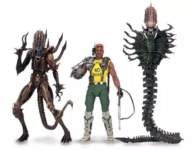 """NECA ALIENS Spazio Serpente Alien Scorpion Alien Marine Apone 7 """"Action Figure AVP Modello Collezione di Giocattoli"""