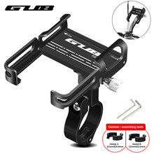 "GUB P10 P20 aluminium vélo Support pour téléphone pour 3.5 ""à 7.5"" téléphone vélo Support Scooter moto Support Support guidon Clips P30(China)"
