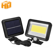 цена на 56 LED Outdoor Solar Wall Light PIR Motion Sensor Solar Lamp Waterproof Infrared Sensor Garden Light