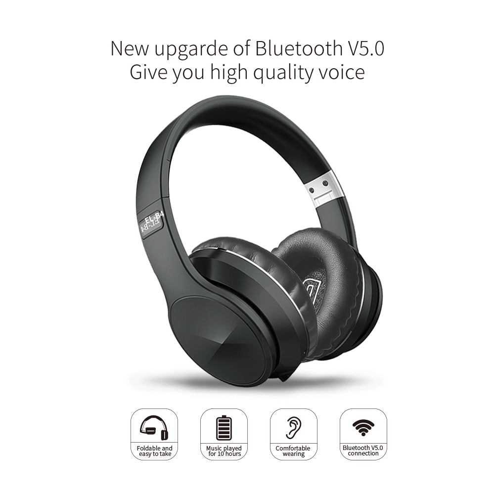 Draadloze Wired Bluetooth Hoofdtelefoon Met Microfoon Ondersteuning Geheugenkaart Hifi Stereo Gaming Sport Headset Voor Ios/Android Pc 3