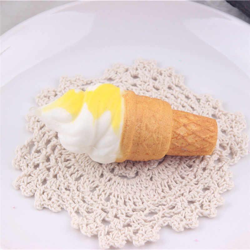 Relax toy squishy squishies miękkie 10cm lody symulacja ciasto powolne rośnie paski na telefon chleb zabawki łańcuszek do telefonu pasek D30823