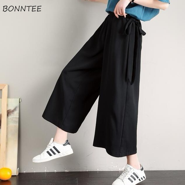 Pants Women Wide Leg Trousers Leisure Daily Steetwear Womens Korean Style  Solid All-match Harajuku Ulzzang New Simple Trendy
