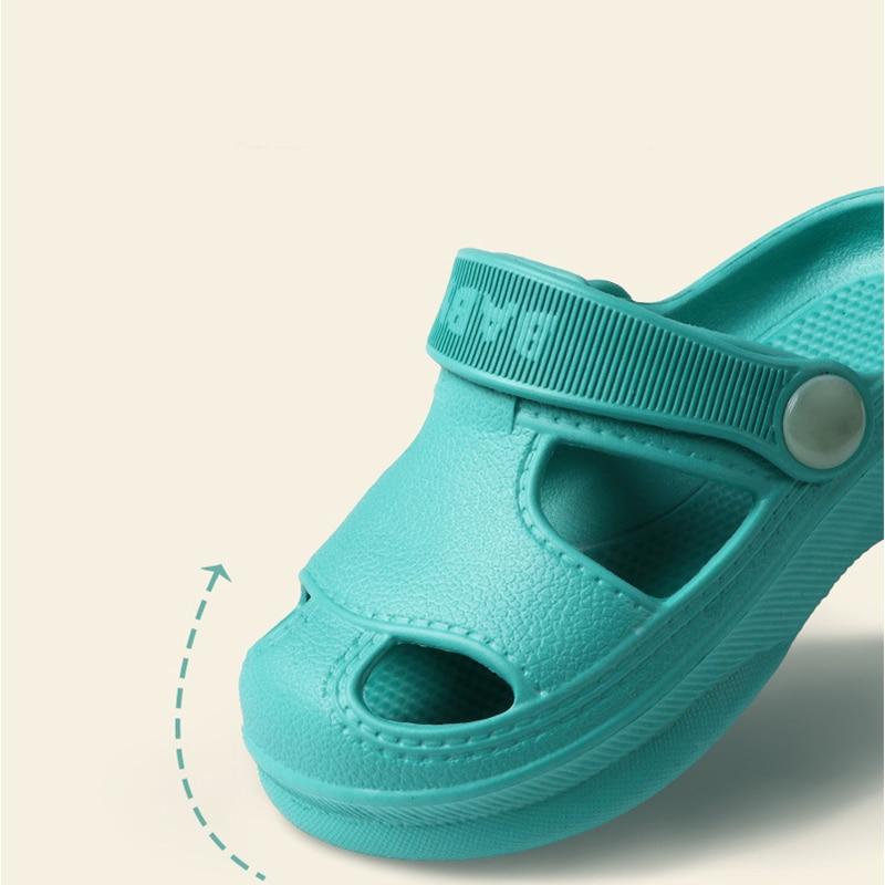 PASHY Baby Sandals Toddler Little Kids Summer Cute Clogs Non-Slip Girls Boys Garden Shoes Beach Pool Shower Slippers