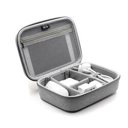 TUUTH torba do przechowywania kabli danych organizator dla Notebook moc banku ładowarka samochodowa U dysku słuchawki akcesoria elektroniczne czarny/szary