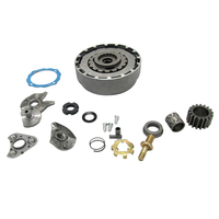 17 Tooth Automatic Clutch Assembly Replacement for 100cc 110cc Chinese ATV Dirt Bike Go Kart Quad