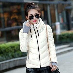 Image 2 - חורף מעיל נשים חדש 2020 סתיו חם למטה מעיל נשי ארוך מעיילי גדול גודל XXXL נשים חורף מעילים להאריך ימים יותר