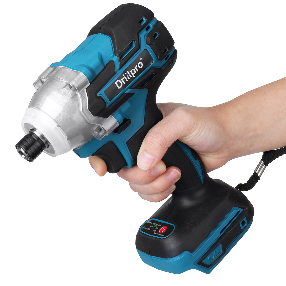 Tools : 18V Cordless Electric Screwdriver Speed Brushless Impact Wrench Rechargable Drill Driver LED Light For Makita Battery